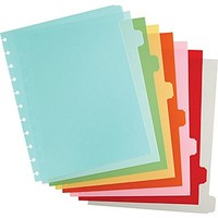 Martha Stewart Home Office™ with Avery™ Discbound Notebook Dividers, Classic, 8-Tab Set, 9 x 11