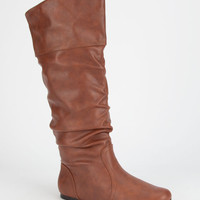 Qupid Neo Womens Boots Tan  In Sizes