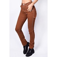 Copper Slim Fit Carpenter Pants by Dickies Girl