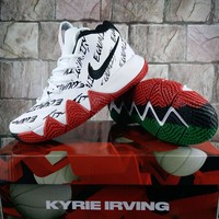 "Nike Kyrie 4 BHM ""Equality"" Basketball Shoe"