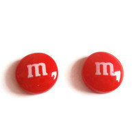 Candy Earrings - RED