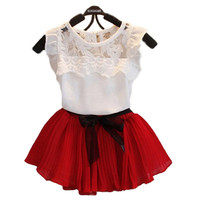 Choice of Girls Spring/Summer Skirt Set