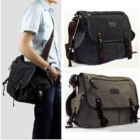 Vintage cross body shoulder Men's bag