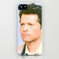 Misha Collins - Castiel iPhone & iPod Case by Hands in the Sky