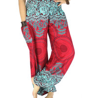 Hippie clothes Elephant pants Harem pants Thai pants Gypsy pants  Palazzo pants Hippie pants Elephant clothes