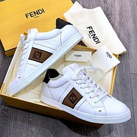 Fendi Fashion sports board small white leisure shoes