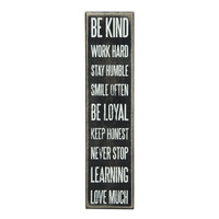 Be Kind Wooden Box Sign