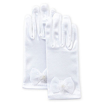 Jayne Copeland Special Occasion Gloves - White