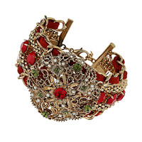 Red Stone Plait Bracelet - New In This Week - New In  - New In This Week
