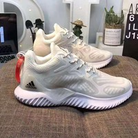 Adidas AlphaBounce Fashionable Men Women Casual Running Sport Sneakers Shoes