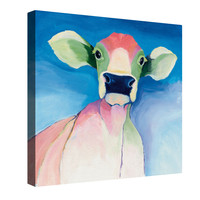 Bella Blue Canvas Wall Art