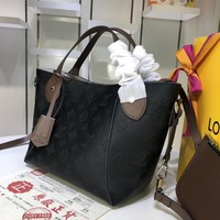 HCXX 1590 Louis Vuitton LV Double design Hina Mahina Small Handbag black