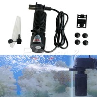 Mini 3 in 1 Aquarium Internal Filter Fish Tank Submersible Pump Spray US HXP001
