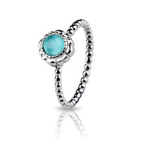 925 Sterling Silver Ring With Green Cubic Zirconia Ring CZ For Women Wedding & Party Rings R40