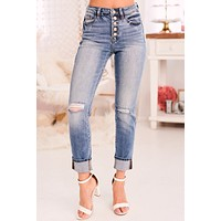 Life In The City KanCan Jeans (Medium Wash)