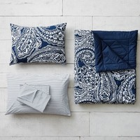 Chic Paisley Value Comforter with Sheets, Pillowcase, Comforter + Sham
