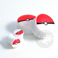 Pokeball Image Plugs - Hot-N-Ready!