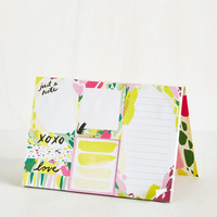 Artful Acknowledgement Sticky Note Set