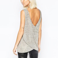 Selected Miranda Sleeveless Top with Drape Back