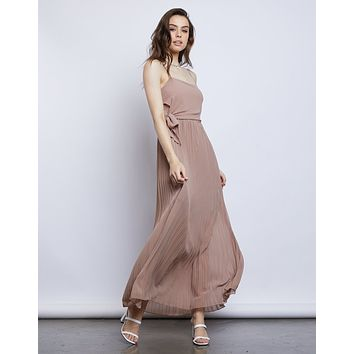 Jenny Chiffon Maxi Dress