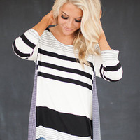 All Sorts of Stripes Top