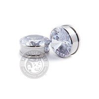 Big Bling Threaded Steel Plugs