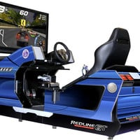 Chicago Gaming Redline GT Game Theater Racing Simulator Arcade Game