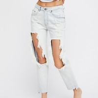 Free People High Waisted Awesome Baggies