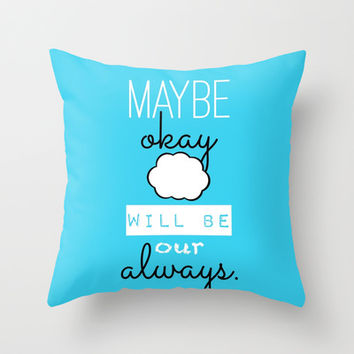 The Fault in Our Stars Throw Pillow by hayimfabulous