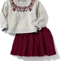 2-Piece Pullover and Tulle Skirt Set for Baby | Old Navy