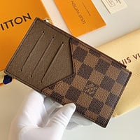 Louis Vuitton LV Classic Coin Purse Key Case Card Case Fashion Men and Women Multifunctional Wallets