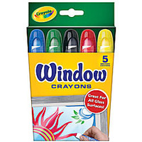 Crayola Washable Window Crayons Box Of 5 Assorted Colors by Office Depot & OfficeMax