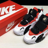 DCCK Nike AIR MAX SPEED TURF Retro Men Shoes Sneakers Sport Basketball White Black Red Size 40-45
