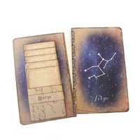 Virgo Constellation Journal - Zodiac Notebook