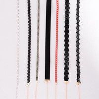 Wild World Choker Set - Multi