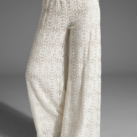 Jen's Pirate Booty Stardust Palazzo Pants in Natural from REVOLVEclothing.com