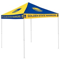Golden State Warriors NBA 9' x 9' Checkerboard Color Pop-Up Tailgate Canopy Tent