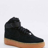 Nike Air Force 1 Hi Black Suede Trainers - Urban Outfitters