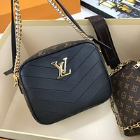 lv louis vuitton women leather shoulder bags satchel tote bag handbag shopping leather tote crossbody 295