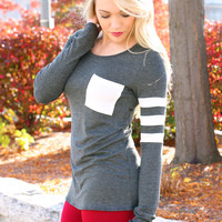 The Tailgating Top - Charcoal
