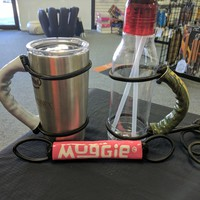 Universal Handle by Muggie | Pink | Use for Yeti | Atlin | RTIC | More | Durable | Hand Crafted
