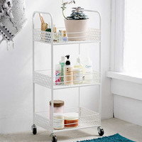 Langley Metal Rolling Storage Cart | Urban Outfitters