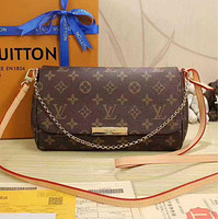 Louis Vuitton LV Women Shopping Leather Satchel Shoulder Bag Handbag Crossbody