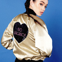 No Vacancy Bomber Jacket