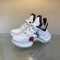 lv louis vuitton womans mens 2020 new fashion casual shoes sneaker sport running shoes 341