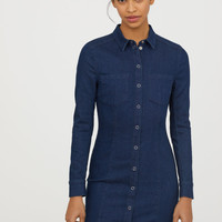 H&M Fitted Shirt Dress $49.99