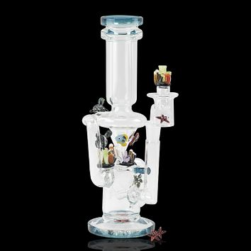 Empire Glassworks Recycler Water Pipe - Under The Sea