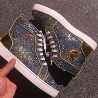 Cl Christian Louboutin Style #2289 Sneakers Fashion Shoes