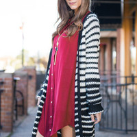 Just Wanna Be With You Cardigan, Black
