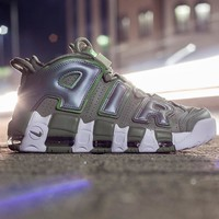 NIKE Air More Uptempo sells women's and men's pippen basketball sneakers